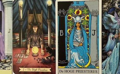 My Experience With The Tarot Major Arcana Card The High Priestess